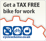 Get a TAX FREE bike for work with Cycle Scheme