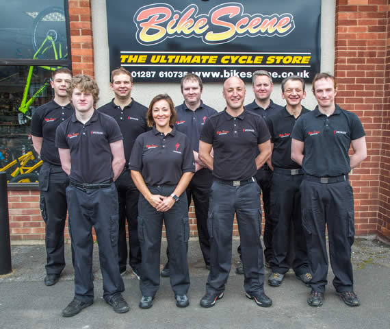 The Bike Scene team